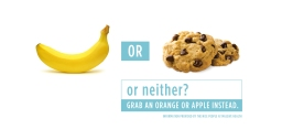 Are bananas as bad for you as cookies?